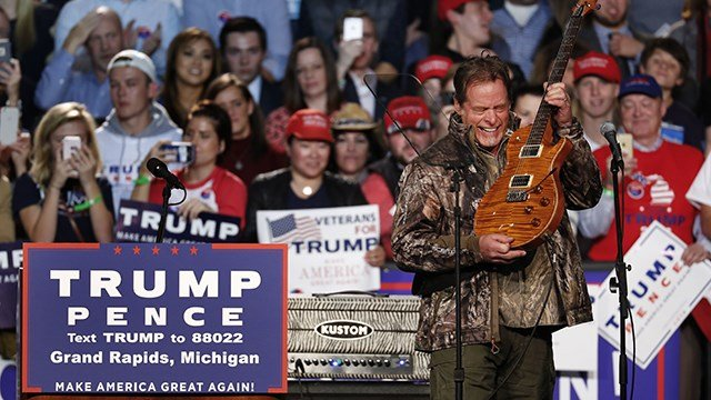You Won't Believe What Ted Nugent Just Said About the Parkland Survivors