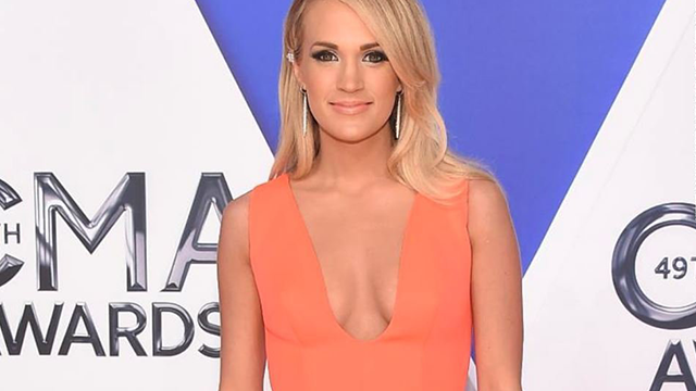 """Carrie Underwood has offered an update after she suffered a """"gruesome"""" injury that she says left her with """"between 40-50 stitches"""" in her face. (Getty Image via CNN)"""