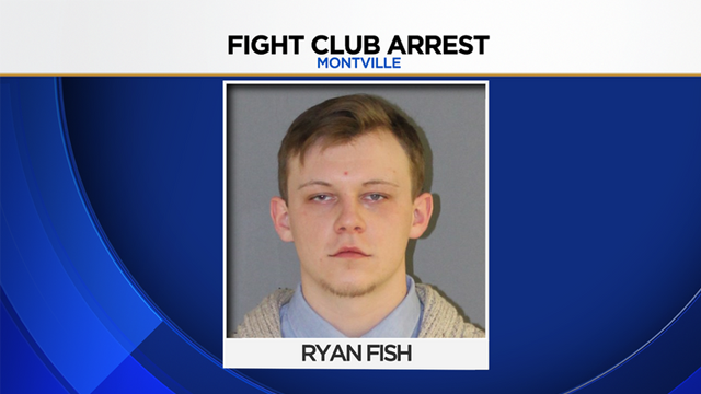 "Ryan Fish was arrested after police said he was running a ""fight club"" at Montville High School in Connecticut"