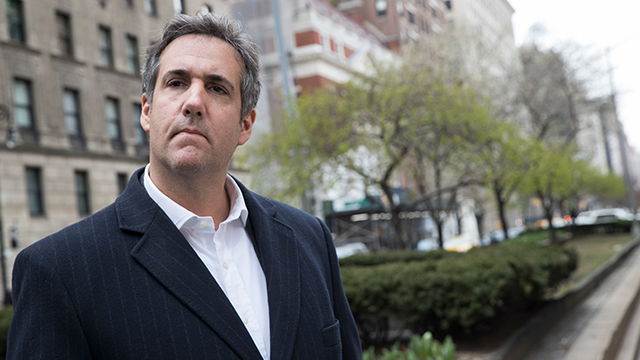 DOJ: Michael Cohen 'under criminal investigation'