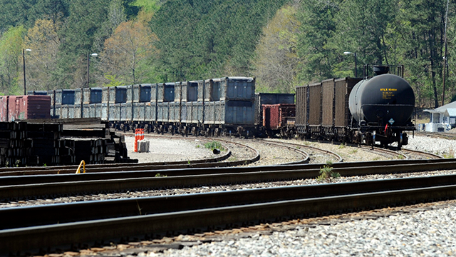 "(AP Photo/Jay Reeves)  More than two months after the so-called ""Poop Train"" rolled in from New York City, Hall says her small town smells like rotting corpses. Some say the trainloads of New Yorkers' excrement is turning Alabama into a dumping ground..."