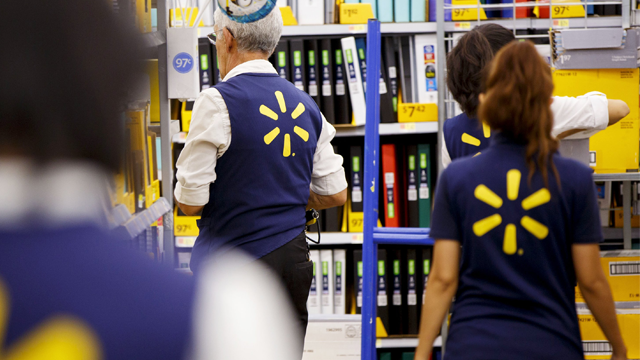 Walmart employees could soon be getting a little more wiggle room in their work attire. (Bloomberg via Getty Images and CNN)