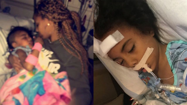 A five-year-old girl in North Carolina has been diagnosed with a rare brain disorder after complaining she had a headache. (WBTV/CNN)