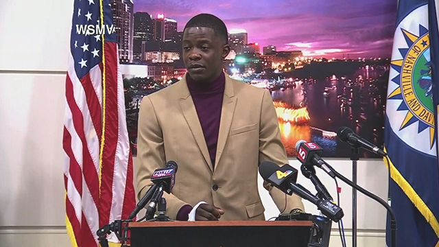 James Shaw Jr. disarmed the suspect shooter at an Antioch, Tennessee Waffle House. He took a selfie of himself showing his injury as well as a bandaged hand. (WSMV)