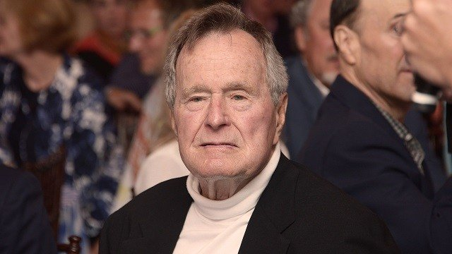 Former president George HW Bush hospitalized in intensive care