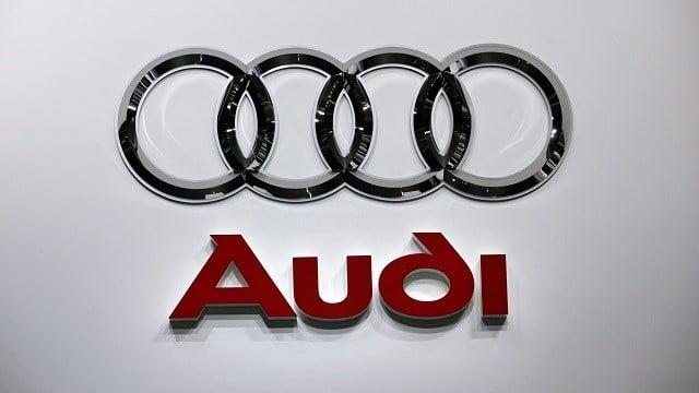 Audi logo (AP Images)