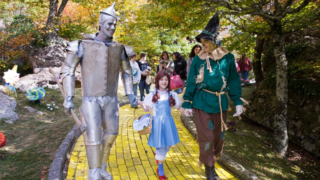 "The ""Land of Oz"" park in Beech Mountain, North Carolina will open for six days in June, offering one-hour guided tours every Friday as well as Saturday, June 30. (Photo Credit: Land of Oz)"