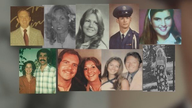 These are the victims of the Golden State Killer
