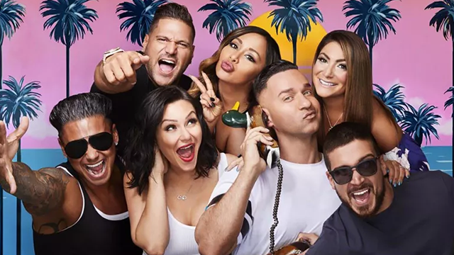 """Most of the """"Jersey Shore"""" crew reunited for """"Jersey Shore Family Vacation"""" which premiered in April 2018 on MTV. (CNN)"""
