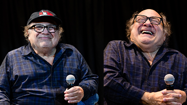 Danny DeVito attends the Asbury Park Music and Film Festival at The Paramount Theatre on Saturday, April 28, 2018 in Asbury Park, NJ. (Photo by Michael Zorn/Invision/AP)