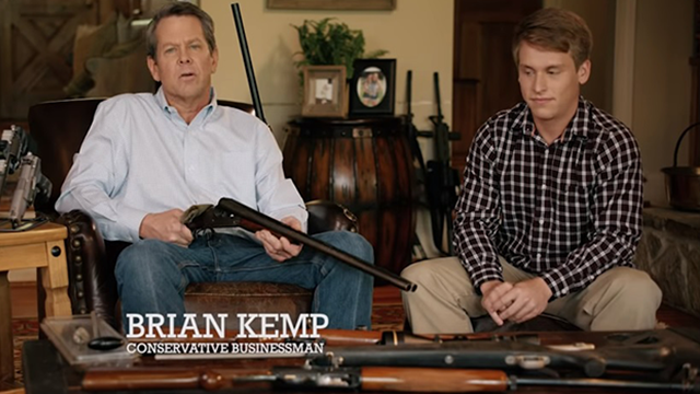 Georgia candidate draws ire for shotgun campaign ad