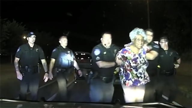 Georgia officer suspended after arrest of 65-year-old turns violent
