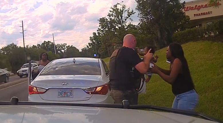 Florida deputy helps save baby's life
