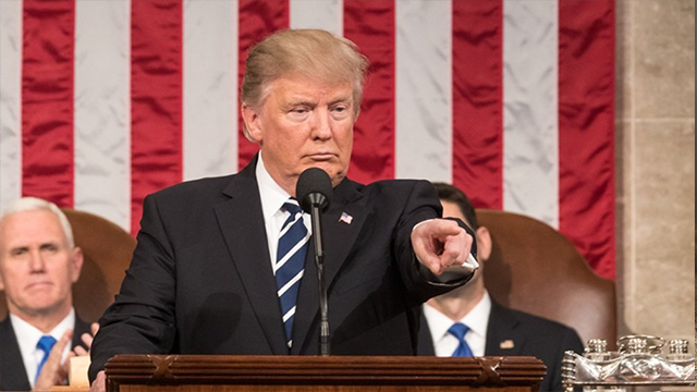President Trump addressed a joint session of Congress for the first time on February  28th, 2017. (whitehouse.gov)