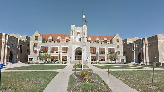 Dixon High School (Google Maps)