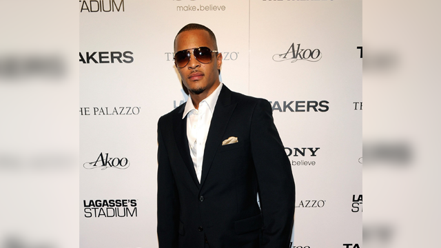 Rapper TI arrested outside his gated community
