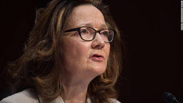 Trump urged to immediately appoint haspel was Director of the Central Intelligence Agency