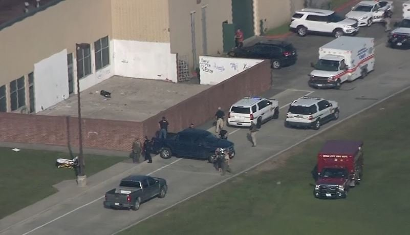 Active school shooting situation at Texas high school
