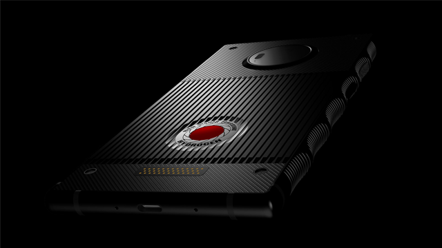 """The Red Hydrogen One smartphone will have a """"holographic display"""" feature. (RED via CNN)"""