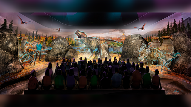 """Jack Horner, a Montana paleontologist who consulted with director Steven Spielberg on the """"Jurassic Park"""" movies is developing a three-dimensional hologram exhibit that will showcase the latest theories on what dinosaurs looked like. (BASE Hologram/AP)"""