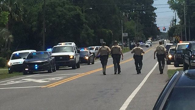 According to the Bay County Sheriff's Office, authorities responded to the scene of an active shooting at an apartment complex in Panama City, Florida on May 22. (Eryn Dion/Panama)