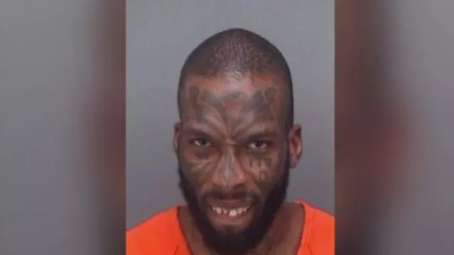 Otis Dawayne Ryan, 30, is accused of yelling a vulgar explanation of where babies come while on top of playground equipment in Florida (Clearwater Police Department)