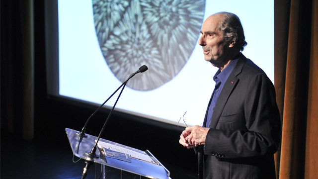 Philip Roth speaks at Yaddo's New York City benefit at The Edison Ballroom on May 14, 2014 in New York City. (Photo by Jenny Anderson/Getty Images)
