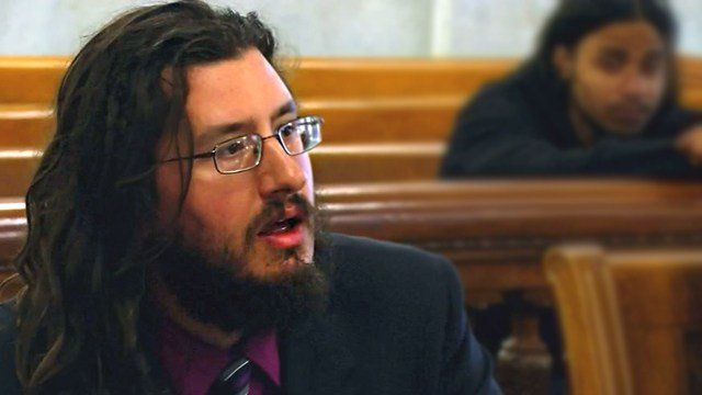 A New York judge ordered Michael Rotondo to move out of his parents' house. (WSTM via CNN)