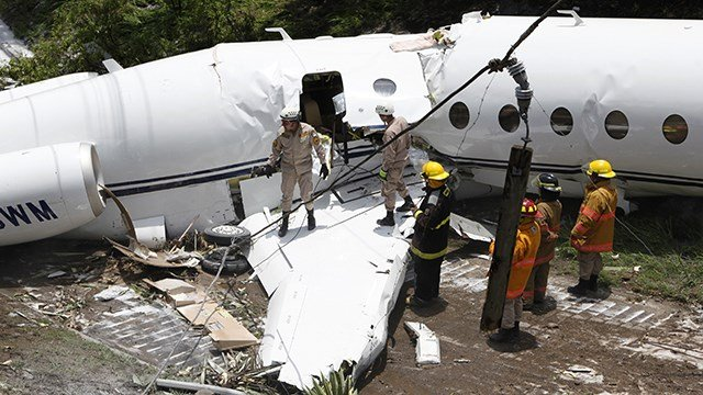 Private jet from Texas crashes in Honduras, all survive | WSMV 4