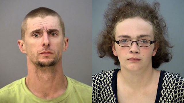 This photo depicts William Anthony Moss (left) and Janet Ringer (right). (Photo: Indianapolis Metropolitan Police Department)