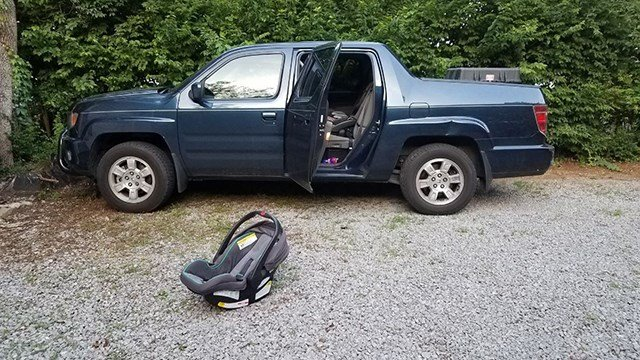 1-year-old dies in hot truck in Nashville