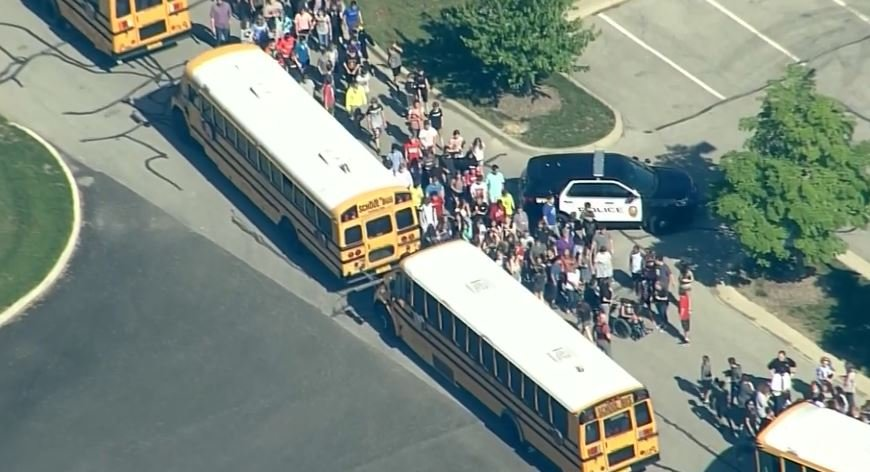Noble West Middle School (WRTV via CNN)
