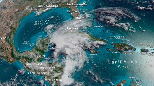 First named storm of Atlantic Hurricane Season has formed