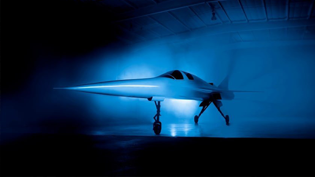 The next wave of supersonic flight could make traveling between the United States and Asia a breeze. (Boom/CNN)