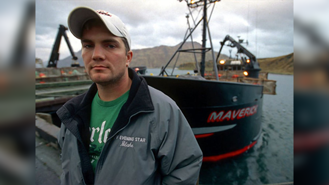 """Blake Painter, an Oregon fisherman featured on the television series """"The Deadliest Catch,"""" has died. He was 38. (Discovery Channel)"""