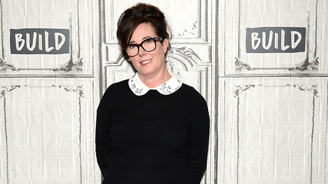 Designer Kate Spade attends AOL Build Series to discuss her latest project Frances Valentine at Build Studio on April 28, 2017 in New York City. (Photo by Andrew Toth/FilmMagic)