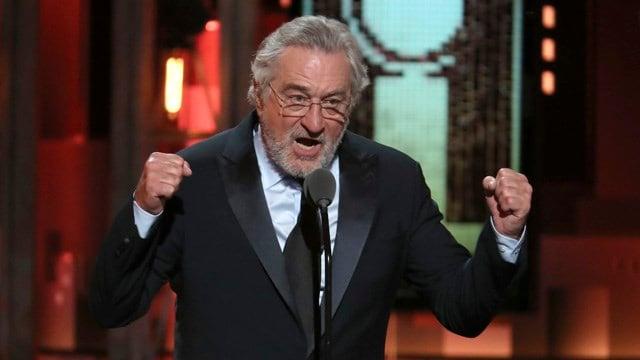 Robert De Niro drops F-bomb against Trump at the Tony Awards