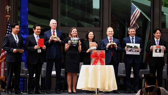 USA unveils de facto embassy in Taiwan