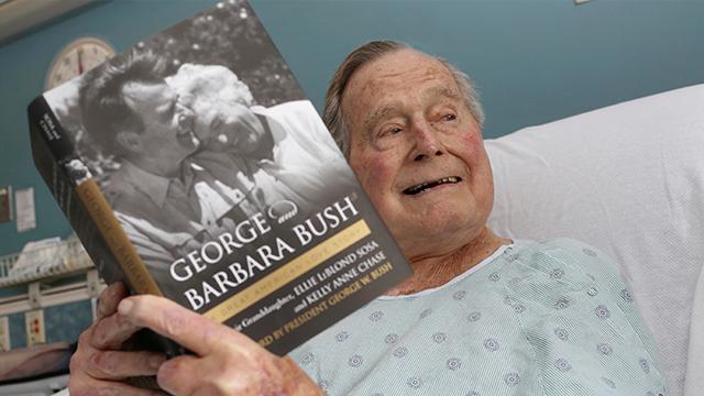 (Paul Morse/Office of George H. W. Bush via AP, File)