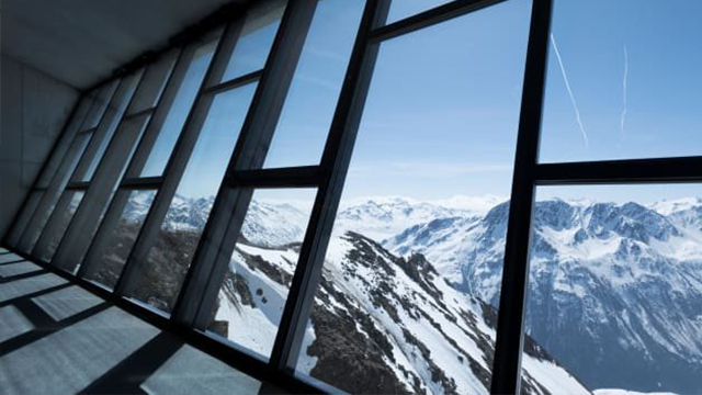 "The Alpine setting was chosen for ""Spectre."" (Courtesy Kristopher Grunert/CNN)"