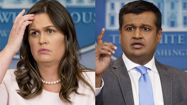 Report: Sarah Sanders and Raj Shah planning to leave White House