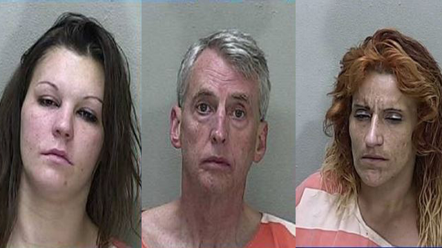 Pictured from left to right are Devon McDougal-Segall, Morris Beebe and Stacy Gonzalez. (Photo: OPD)