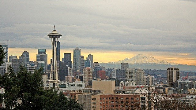 The Seattle skyline. (Storyblocks)