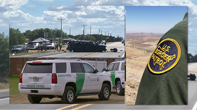 5 dead after auto flips in Border Patrol chase in TX""