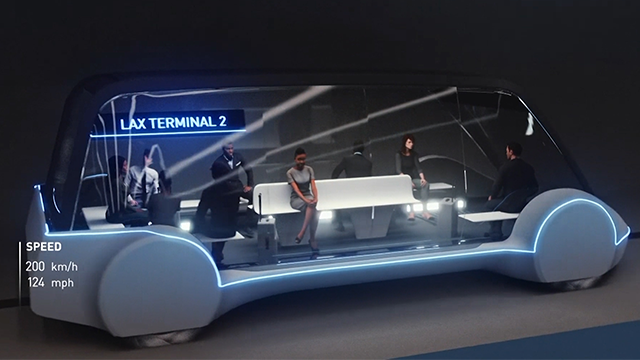 A company founded by Tesla CEO Elon Musk plans to build a high-speed underground transportation system that could whisk passengers from downtown Chicago to O'Hare International Airport in minutes. (AP)