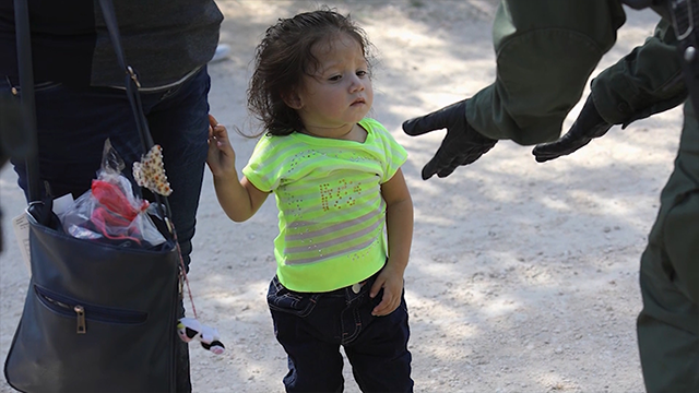 Children separated from parents at United States border sob, wail desperately