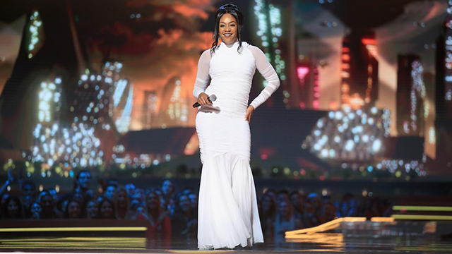 Tiffany Haddish doesn't dance now, she makes money movies. (Chris Polk/Getty Images)