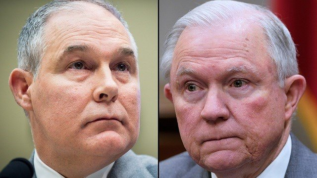 Embattled Environmental Protection Agency Administrator Scott Pruitt directly appealed to President Donald Trump this spring to fire Attorney General Jeff Sessions and let him run the Department of Justice instead