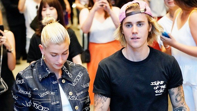 Justin Bieber and Hailey Baldwin out and about in Dumbo on July 5, 2018. (Photo by Gotham/GC Images)