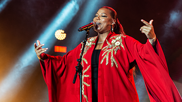 Queen Latifah performs at the 2018 Essence Festival at the Mercedes-Benz Superdome on Saturday, July 7, 2018, in New Orleans. (Photo by Amy Harris/Invision/AP)